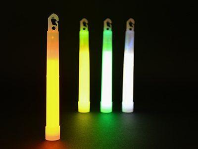 """Обзор товара: Химический источник света (ХИС) Cyalume ChemLight 6"""" Orange"""