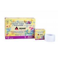 Пластир медичний IGAR RiverPlast на тканинній основі (бавовна) 3 см х 500 см
