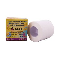 Пластир медичний IGAR RiverPlast на тканинній основі (бавовна) 5 см х 500 см