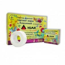 Пластырь медицинский IGAR RiverPlast на тканевой основе (хлопок) 2 см х 500 см