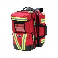 Рюкзак парамедика профессиональный KEMP Red Ultimate Tarpaulin EMS Backpack