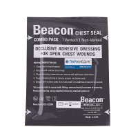 Пов'язка оклюзійна Beacon Chest Seal Combo Pack