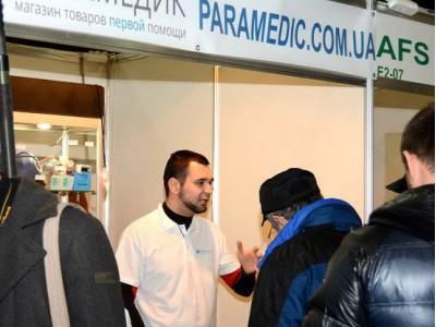 Магазин «Парамедик» принимал участие в выставке «Волонтерский военпром»