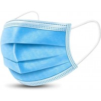 Захисна маска медична тришарова