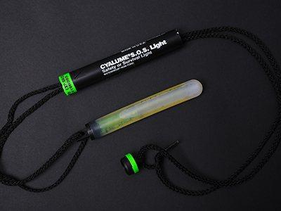 Обзор товара: Химический источник света (ХИС) Cyalume SOS Light